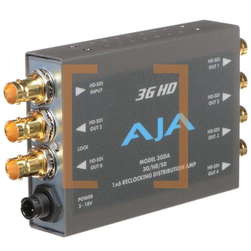 1x6 3G/HD/SD Reclocking Distribution Amplifier