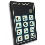 Clickapad Audience Voting Handset Hire
