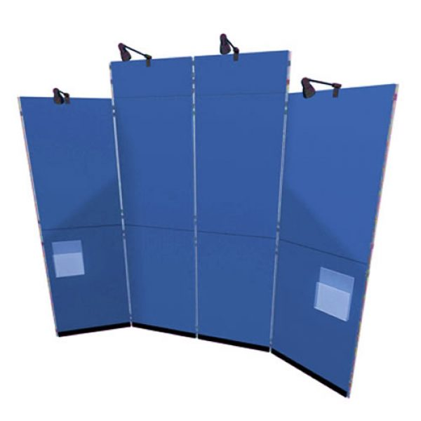 Clip Panel and Pole System Hire