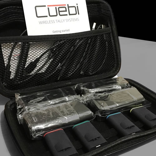 Cuebi Wireless Camera Tally Light System Hire