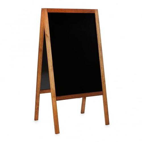 Waterproofed Chalkboard A-Frame display hire