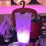 LED Glass Vase Table Centrepiece Hire