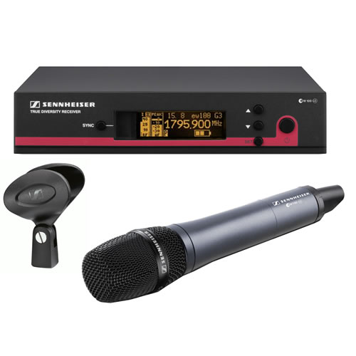 Sennheiser Wireless Lapel Microphone EM 100 G3