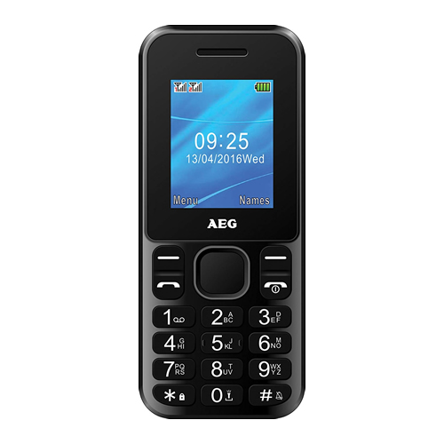 SIM-Free Mobile Phone with Bluetooth - Black Hire