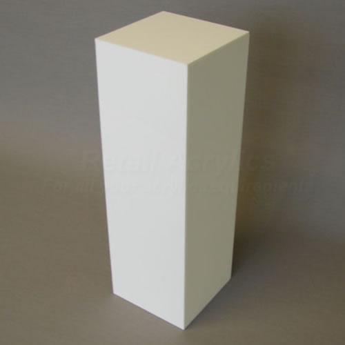 120cm Tall - Opal Acrylic Plinth (LED illuminated)