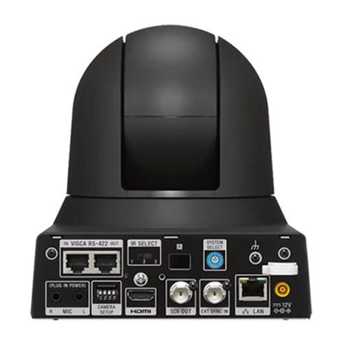 Sony BRC-X400 (BRCX400) IP 4K Pan-Tilt-Zoom PTZ Camera with NDI HX Capability - Black